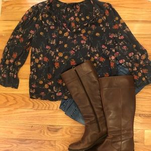 Lucky Brand | Floral Blouse
